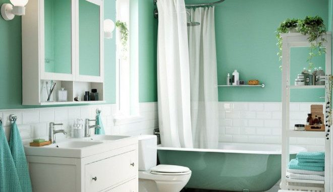Peinture salle de bains : quelle couleur choisir ? | Tout ...